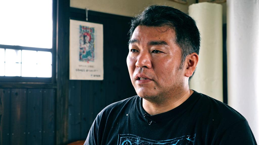 肥前名尾和紙の6代目、谷口祐次郎さん