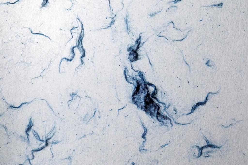 レベレーションに出品した「紙藍染」