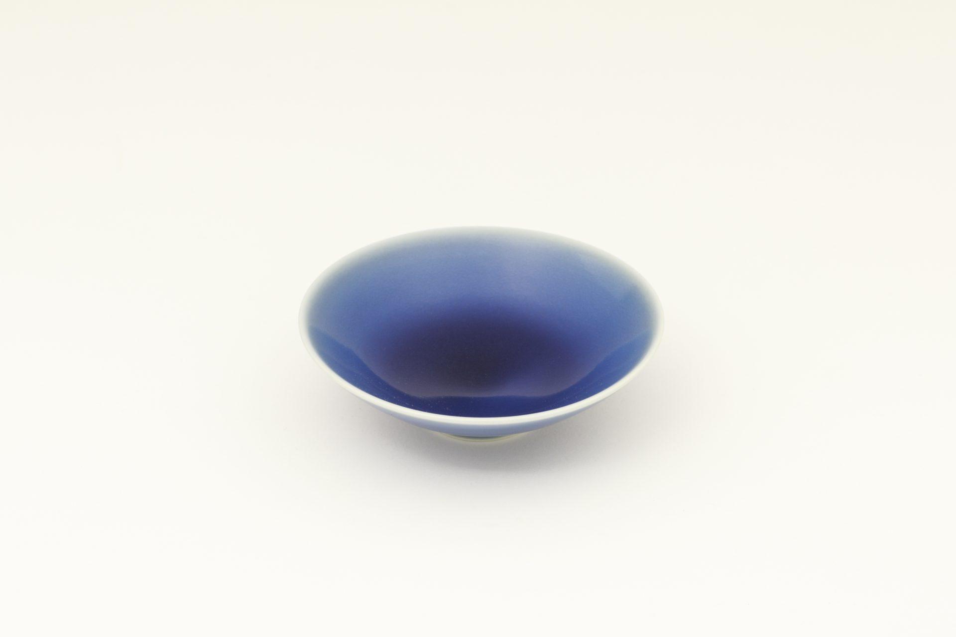 ふるさと納税返礼品_有田焼/坂本達也/瑠璃釉平鉢