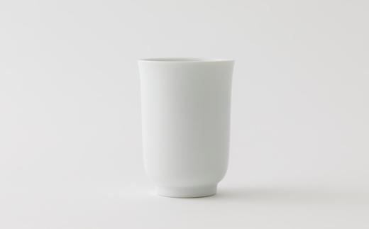 ふるさと納税返礼品_有田焼/清六窯/白磁湯呑大