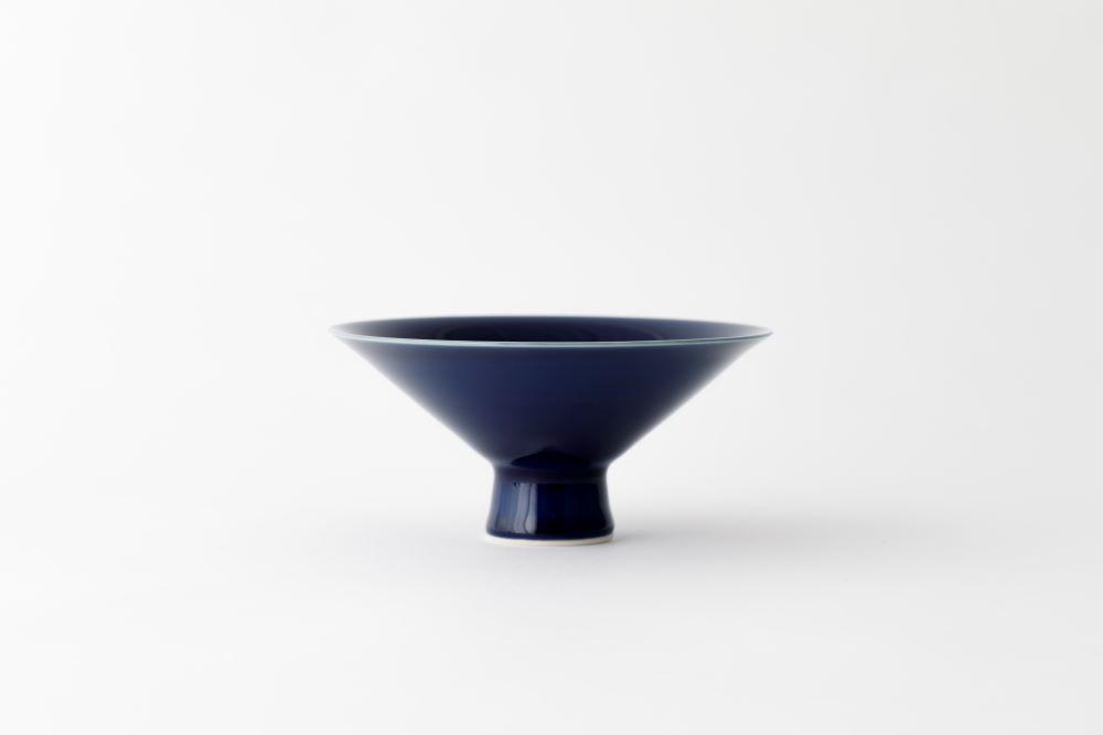 有田焼/坂本達也/瑠璃茶碗